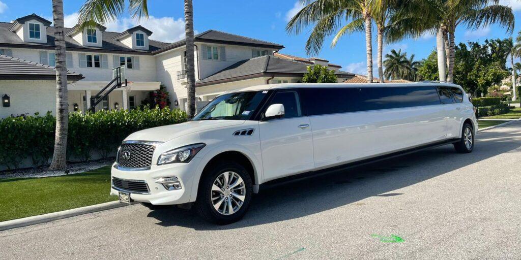 white Limousine Service