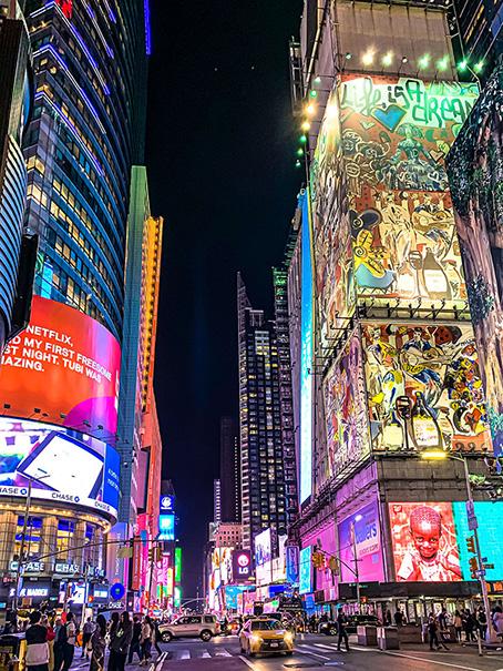 Street in NY