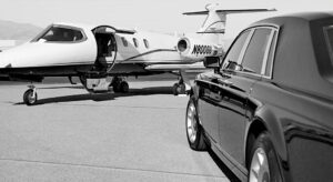 Why should I use a limousine service to go to the airport?