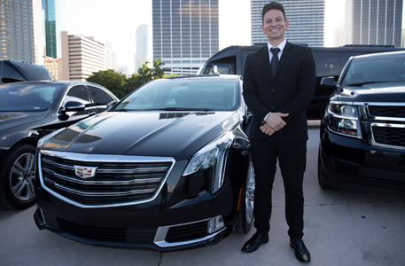 Business trips with premium car service