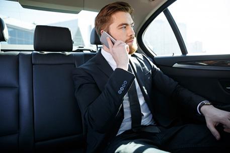 Businessman in Luxury Travel