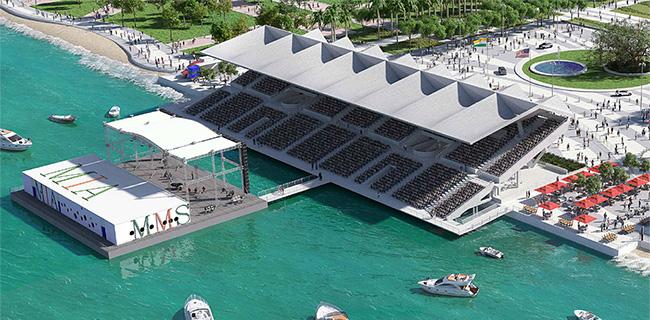 Miami Marine Stadium - Boat Show