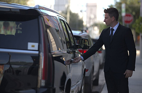 Chauffeur Service in Luxury Car