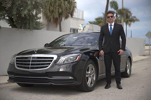 Chauffeur Service in Luxury Car