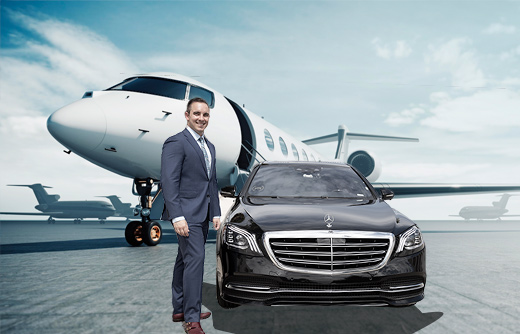 Luxury car service for Private Aviation