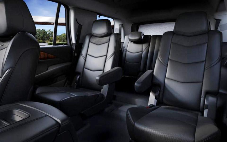 Luxury SUV Interior Views