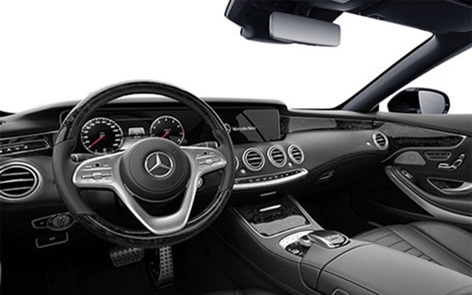Mercedes Benz S-Class-560 Sedan-Panel