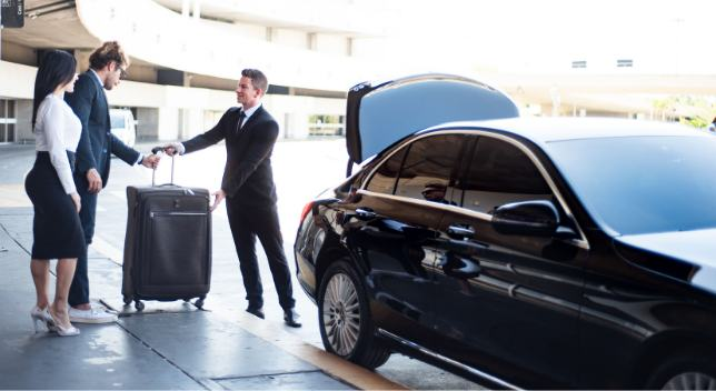 limousine service at the airport