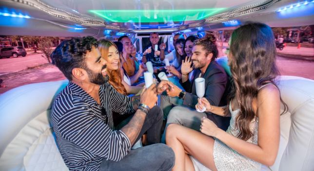 what occasions is a limousine appropriate