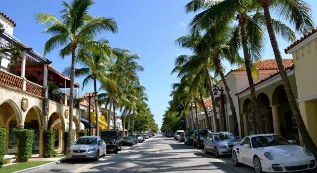 luxury car service in palm beach